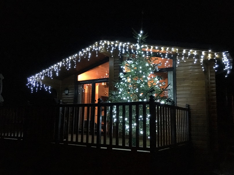 Merry Christmas from Balquhidder Mhor Luxury Log Cabin