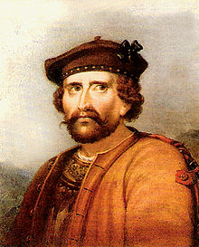 Rob Roy MacGregor - raise a glass to the the Highland Rogue who died on this day in 1734