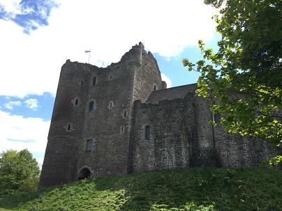Castle Leoch and Winterfell - Doune Castle