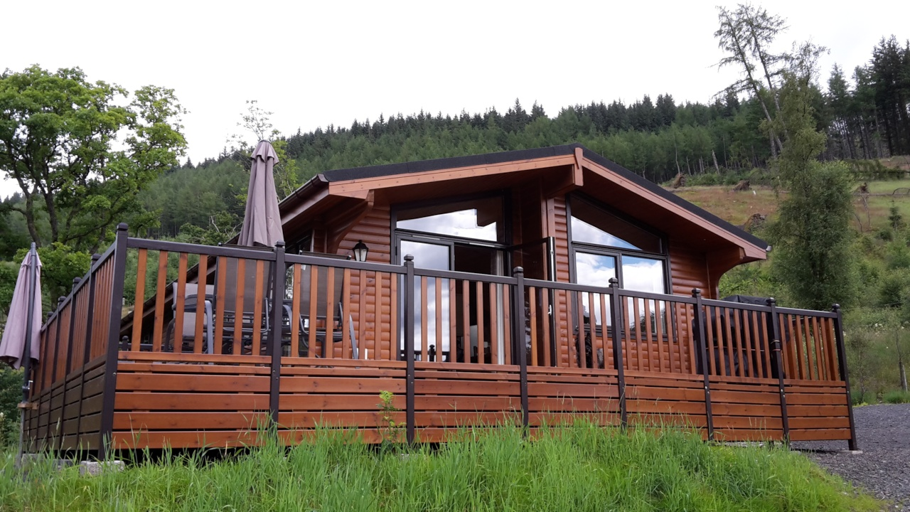 Deck-O-Tastic views in the Loch Lomond and Trossachs National Park!