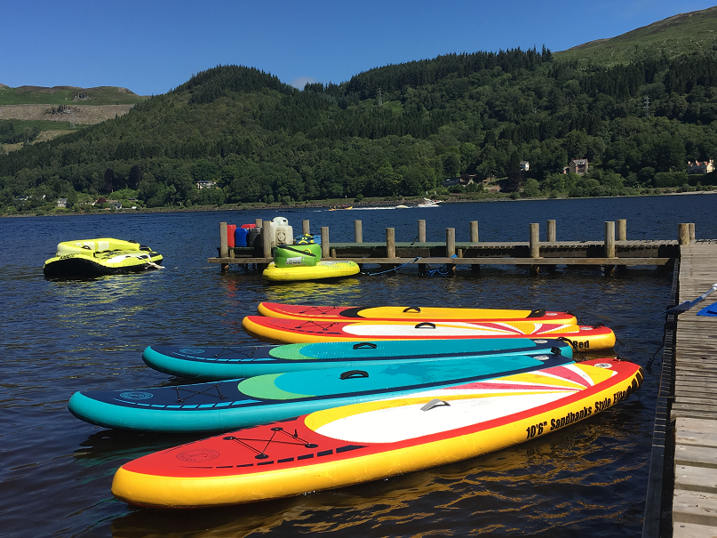 Lochearnhead Watersports Centre - Why wouldn't you...so much fun!