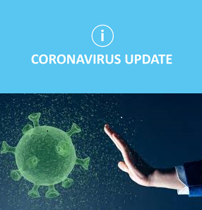 Information Regarding Coronavirus - Update, Planned re-opening for July 10th!